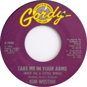 1965 - Weston - take me in arms - 50 RB 4