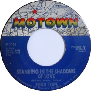 1966 - Four Tops - standing in - 6 rb 2 uk 6
