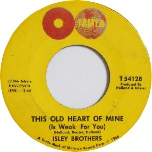 1966 - Isleys - old heart - 12 rb 6 uk 47