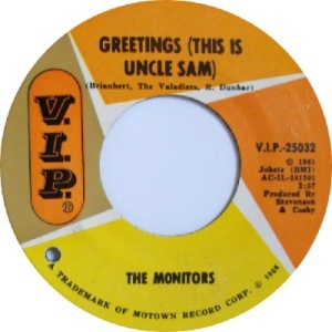 1966 - Monitors - uncle - 100 rb 21 - holland is brianbert
