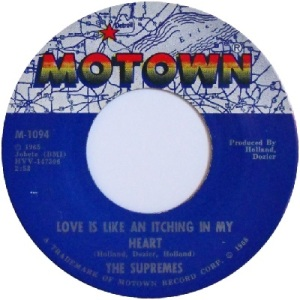 1966 - Supremes - itching - 9 rb 7 uk 54
