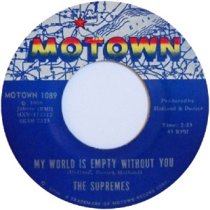 1966 - Supremes - my world - 5 rb 10