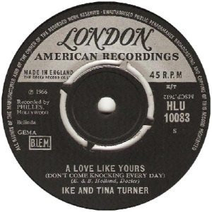 1966 - Turners - a love - UK 16