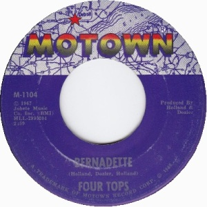 1967 - Four Tops - Bernadette - 4 rb 3 uk 8