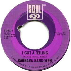 1967 - Randolph, B - feeling - 116