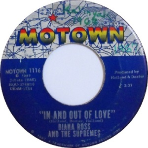 1967 - Supremes - in and out - 9 rb 16 uk 13