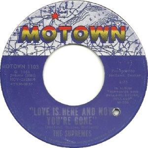 1967 - Supremes - love is here - 1 rb 1 uk 17