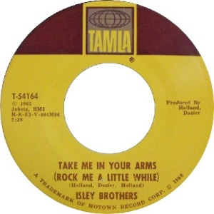 1968 - isleys - take me - 121 rb 22 uk 52