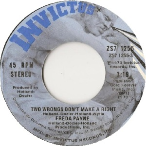 1973 - payne - two wrongs - rb 75