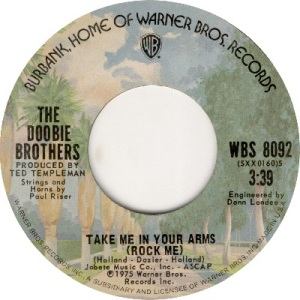 1975 - doobies - take me - 11 uk 29