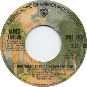 1975 - taylor - sweet it is - 5 uk 51