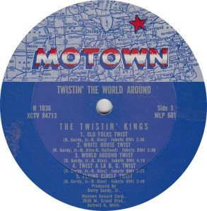 MOTOWN 601 - TWIST KINGS A