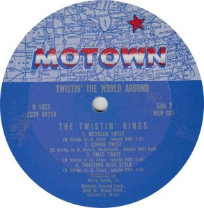 MOTOWN 601 - TWIST KINGS B