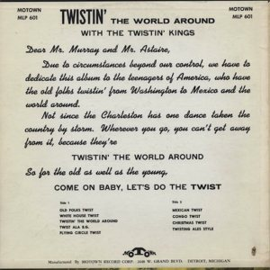 MOTOWN 601 - TWISTIN KINGS BC
