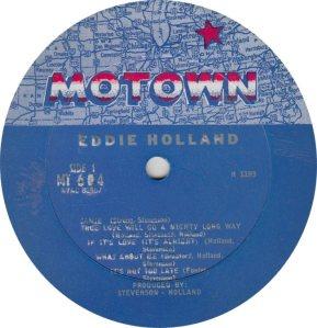 MOTOWN 604 - HOLLAND A