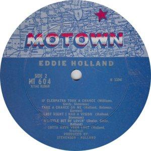 MOTOWN 604 - HOLLAND B