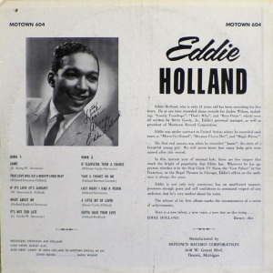 Motown 604B - Holland, Eddie