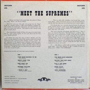 Motown 606B - V1 - Supremes
