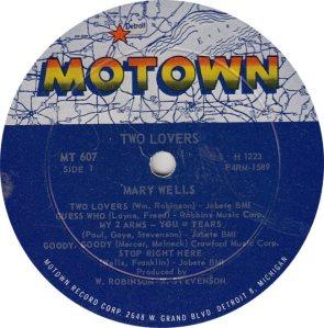 MOTOWN 607 - WELLS - R