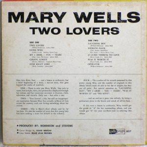 Motown 607B - Wells, Mary
