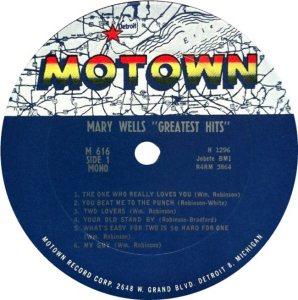 MOTOWN 616 - WELLS - RA