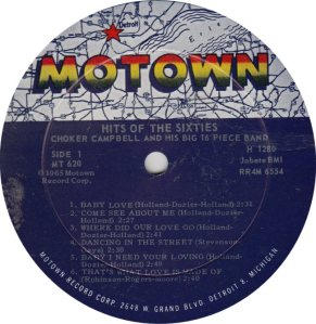 MOTOWN 620 - CAMPBELL R