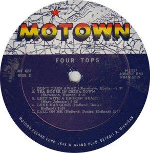 MOTOWN 622 - 4 TOPS - R_0001