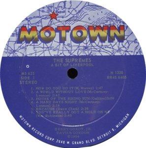 MOTOWN 623 - SUPREMES - A