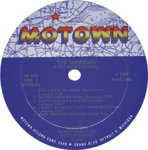 MOTOWN 623 - SUPREMES - B