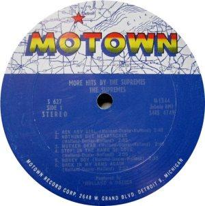 MOTOWN 627 - SUPREMES - A