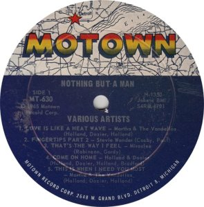 MOTOWN 630 - ST - NOTHING BUT MAN R