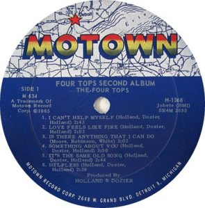 MOTOWN 634 - FOUR TOPS - A