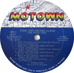 MOTOWN 634 - FOUR TOPS - B