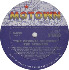 MOTOWN 639 - SPINNERS R