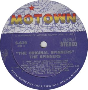MOTOWN 639 - SPINNERS R_0001