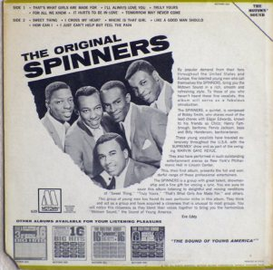 Motown 639B - Spinners