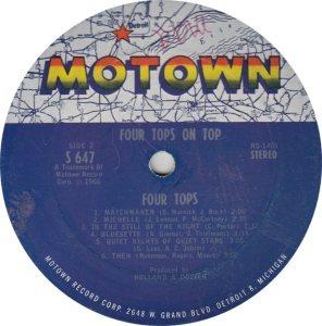 MOTOWN 647 - 4 TOPS R_0001