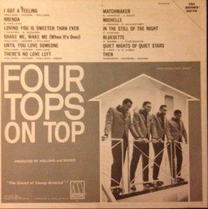 MOTOWN 647 - FOUR TOPS - BC