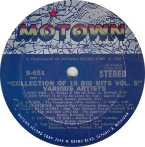 MOTOWN 651 - VAR - R