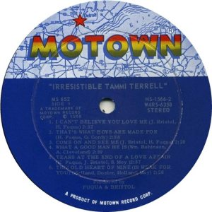 MOTOWN 652 - TERRELL - RA