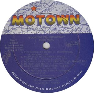 MOTOWN 657 - 4 TOPS R_0001