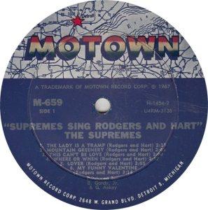 MOTOWN 659 - SUPREMES R