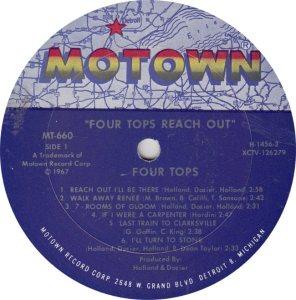 MOTOWN 660 - 4 TOPS R