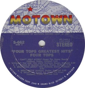 MOTOWN 662 - 4 TOPS R_0001