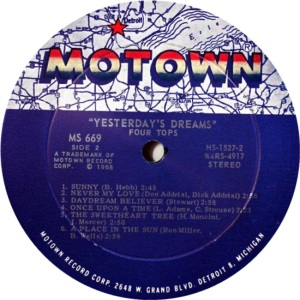 MOTOWN 669 - FOUR TOPS - RB