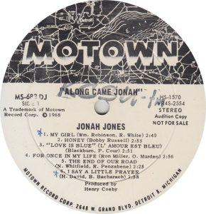 MOTOWN 683 - JONES R