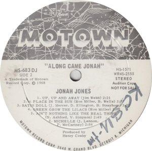 MOTOWN 683 - JONES R_0001