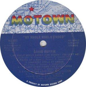 MOTOWN 685 - RUFFIN D R