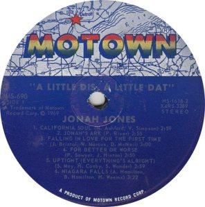 MOTOWN 690 - JONES R