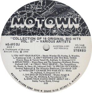 MOTOWN 693 - VARIOUS R